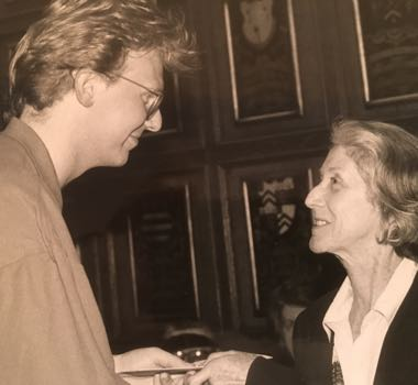 Chris and Nadine Gordimer